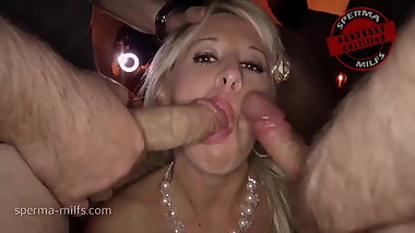 Tons Of Cum For Sperma-Milfs Manu Magnum & Sexy Susi
