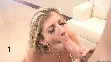 Sara Jay Cumshot Compilation - Part 1