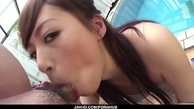 Keito Miyazawa hot girl fucked at the pool