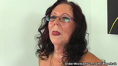 Does this British grandma still masturbate?
