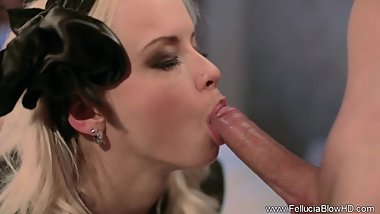 Blonde Style Blowjob