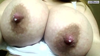 Huge milky lactating breast #1