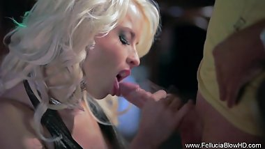 Beautiful and erotic blowjob fantasy