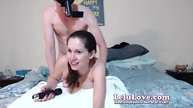 Lelu Love-POV Doggystyle Cumshot AND Creampie