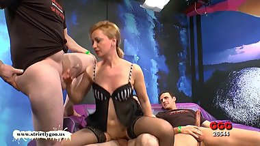 German Goo Girls - Double Penetrated Mother