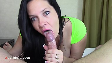 My Neighbor's Busty Wife Finally Fucks Me And Gets A Creampie-1080 HD