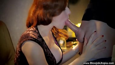 Redhead Blows So Passionately