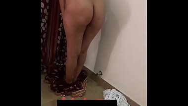 Desi chubby wife strip show