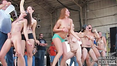 Abate 2013 Iowa Biker Rally All Hot Girls Contest