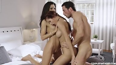 Alexa Tomas Cuckold Threesome