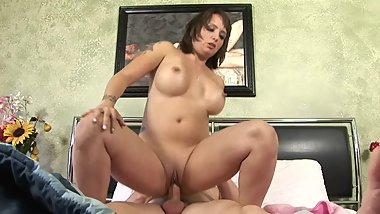 Big Tit Step Mom Fucks Her Sick College Step Son