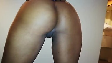EBONY Tika at her naughty self... ready and wet.. Big ass and sexy pussy