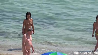 Amateur beach Nudist females Spied Hidden Cam Voyeur HD