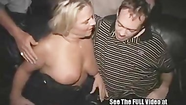 Birthday MILF Has A Public Porn Theater Sex Celebration