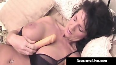 elicious Texas Milf Deauxma Dildo Bangs Her Pussy & Asshole