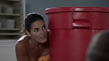 Angie Harmon Nude Covered  (Rizzoli and Isles)