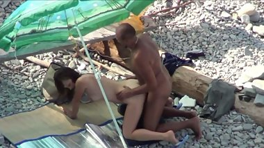 Kama Sutra on the beach  Doggy-style 3