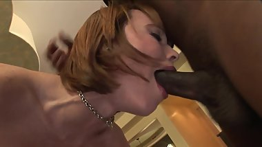 Redhead With Braces BBC Anal