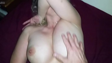 Milf doesn't want to be filmed taking Husbands thick cock