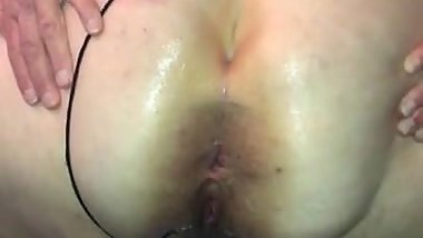 First time anal fully inside of cid with black lace