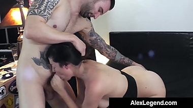 Big French Dick Alex Legend Fucks Hot Brunette Sovereign Syr