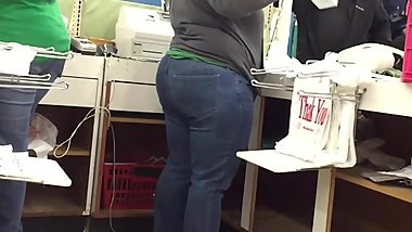 BBW Pawg VPL Bubble Butt in Jeans BONUS