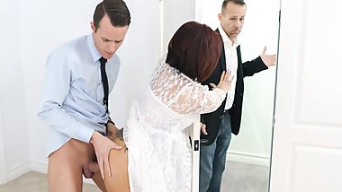 FamilyStrokes - Persistent Stepson Fucks His Stepmom