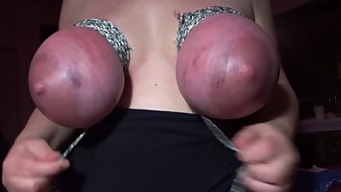 hard breast bondage