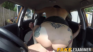 Cock craving UK MILF cant drive but wants to pass the test