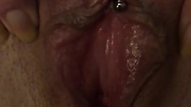 Homemade close up pussy