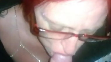 British milf cock sucker plays chav for everyone to see