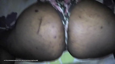 Thick big ass black cougar milf!