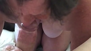 Slut GF Becky Blowjob