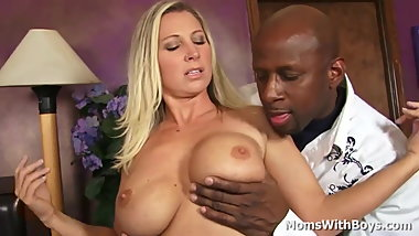 Big Tit Milf Devon Lee A Hard Working Black Cock Tester