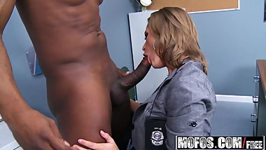 Melissa Rose - Officer MILF Dirty Cop - Milfs Like It Black