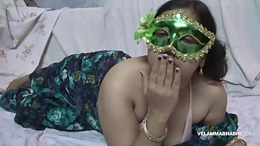 Indian Juicy Bimbo Velamma Bhabhi Getting Her Big Tits Fondl