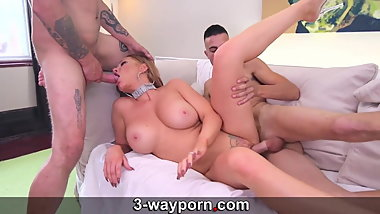 3-WayPorn - Double Penetration for my hot Milf Step Mom