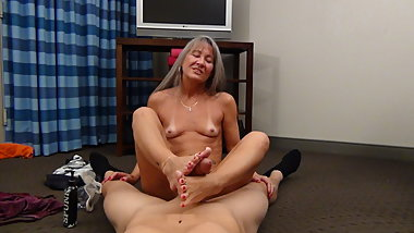 Leilani Lei Gives Jason a Foot Job
