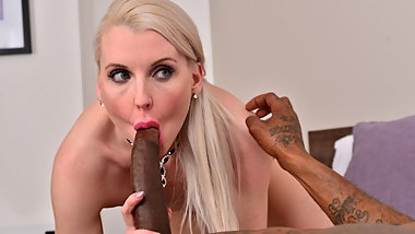 British milf Lexi Lou loves big black cock